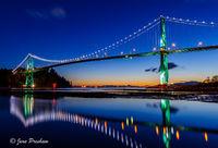 Lions Gate Bridge Reflection