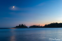 sunset, Long Beach, Pacific Rim National Park Reserve, Esowista, Vancouver Island, British Columbia, Canada, summer