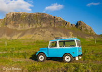 Jeep, Reykholt, West Iceland, Summer