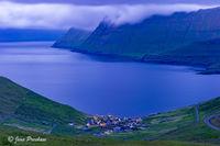 Funningur, Funningsfjorour, Eysturoy, Faroe Islands, Summer, North Atlantic Ocean