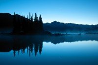 Sunrise,Mist,Battleship Isles,Garabaldi Lake,Garabaldi Provincial Park,Squamish,British Columbia,Canada,Fall