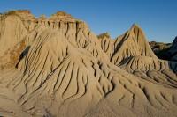 Hoodoos, Sunset, Badlands, Dinosaur Provincial Park, Alberta, Canada, Travel