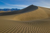 Sand Dunes, Grapevine Mountains, Death Valley National Park, Sunrise, California, USA, Winter