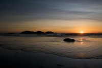 Sunset,Wickaninish Bay,Long Beach,Pacific Rim National Park,Vancouver Island,British Columbia,Canada,West Coast,Pacific Ocean,Summer,Travel