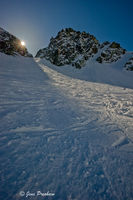 Sunburst, Blackcomb Glacier, Blackcomb Glacier Provincial Park, Whistler, British Columbia, Skiing, Winter