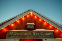 Hollyburn Lodge,Cypress Bowl Nordic Center,Cross Country Skiing,West Vancouver,British Columbia,Canada,Winter,Snow,Night