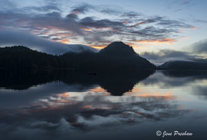 Sunrise, Clouds, Grice Bay, Pacific Rim National Park Reserve, Tofino, Vancouver Island, British Columbia, Canada, Pacific Ocean, Summer