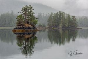Island Bay, Gwaii Haanas National Park Reserve, Haida Gwaii, British Columbia, Hecate Strait, Pacific Ocean, Canada, Summer