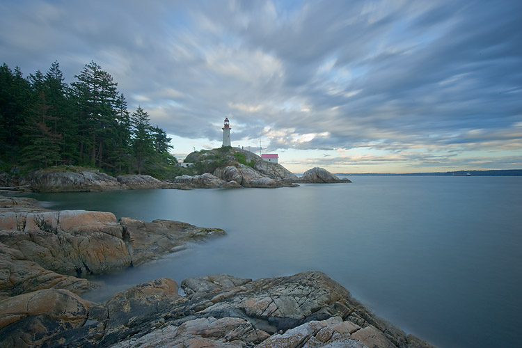 Lighthouse Park,Point Atkinson,West Vancouver,British Columbia,Canada,English Bay,Howe Sound,Pacific Ocean,Summer,Sunset, photo