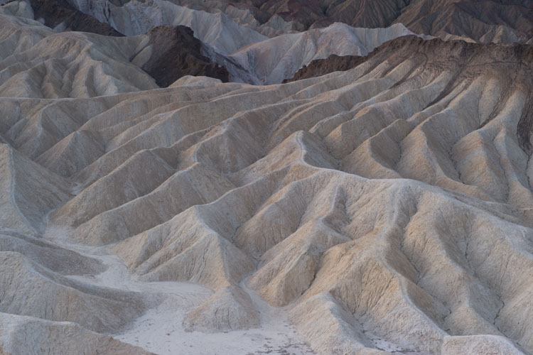 Sunrise,Eroded Badlands,Zabriskie Point,Amargosa Range,Death Valley National Park,California,United States of America,Winter, photo