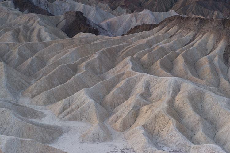 Sunrise,Eroded Badlands,Zabriskie Point,Amargosa Range,Death Valley National Park,California,United States of America,Winter, photo