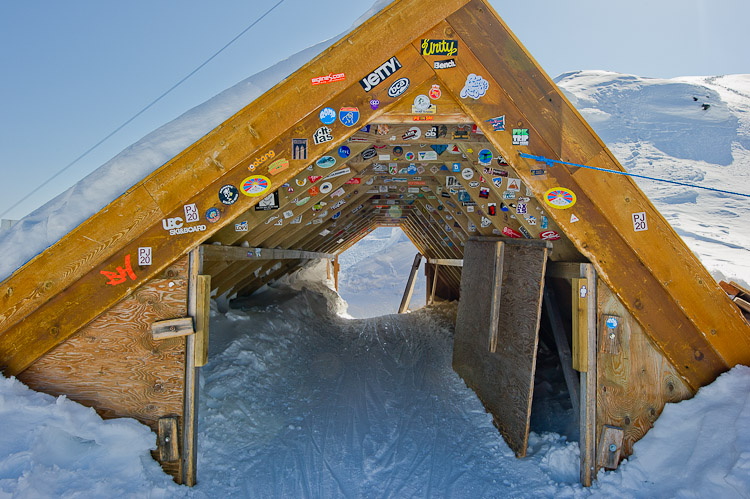 Horstman T-Bar, Horstman Hut, Blackcomb Ski Area, Whistler, British Columbia, Canada, Winter, Skiing