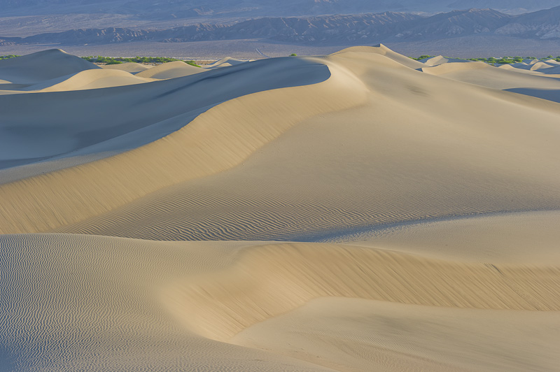 Mesquite Sand Dunes, Sunrise, Stovepipe Wells, Death Valley National Park, California, USA, photo