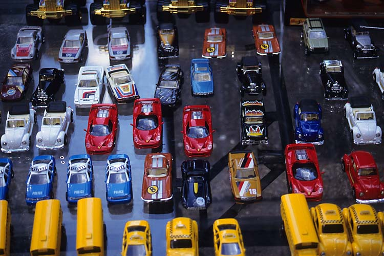 Toy Cars,Street Vendor,Manhattan,New York,USA,Summer,Travel, photo