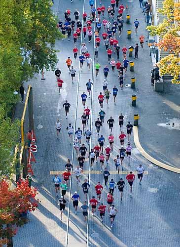 Turkey Trot 10 Km Run,Granville Island,False Creek,Vancouver,British Columbia,Canada,Fall,Travel, photo