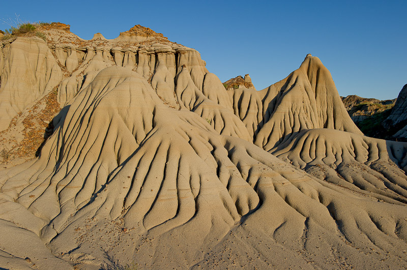 Hoodoos, Sunset, Badlands, Dinosaur Provincial Park, Alberta, Canada, Travel, photo