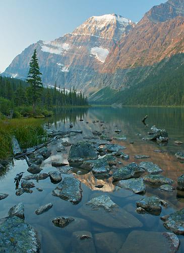 Mount Edith Cavell : Jasper National Park, Alberta, Canada ...
