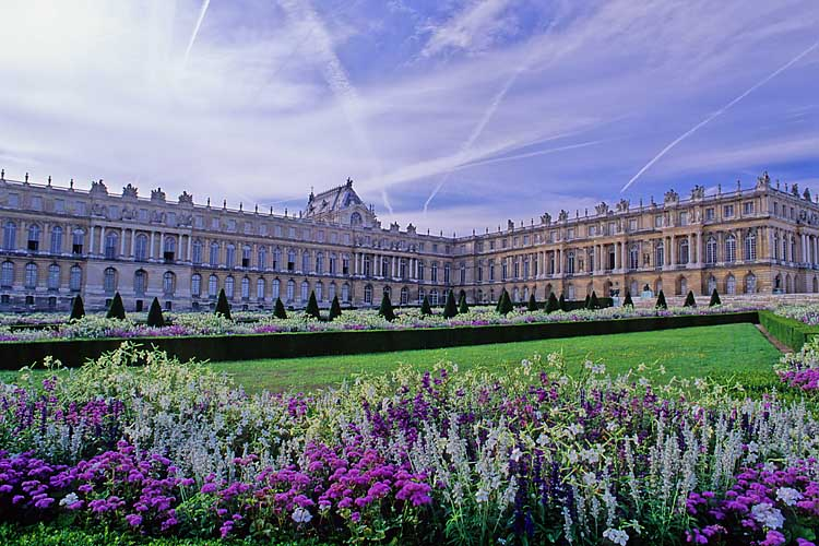 Flowers At The Palace Of Versailles, France
