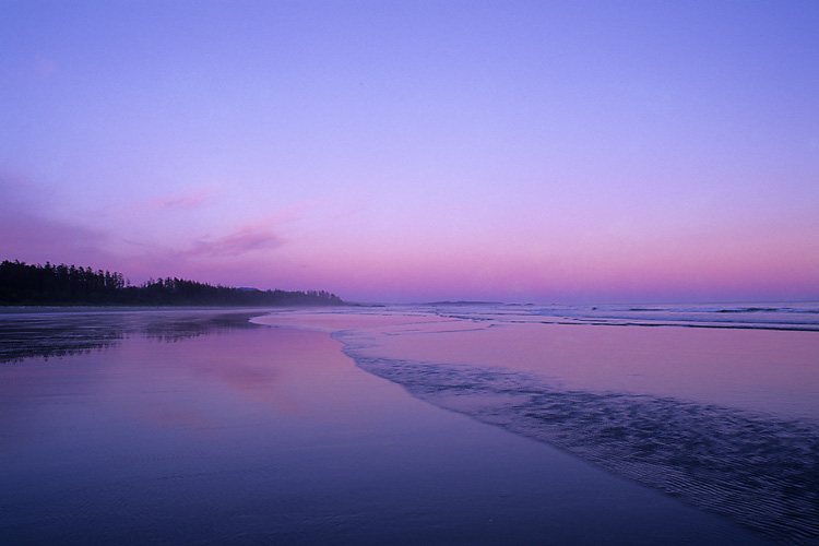 Sunset,Long Beach,Pacific Rim National Park,Vancouver Island,West Coast,British Columbia,Canada,Pacific Ocean,Summer, photo