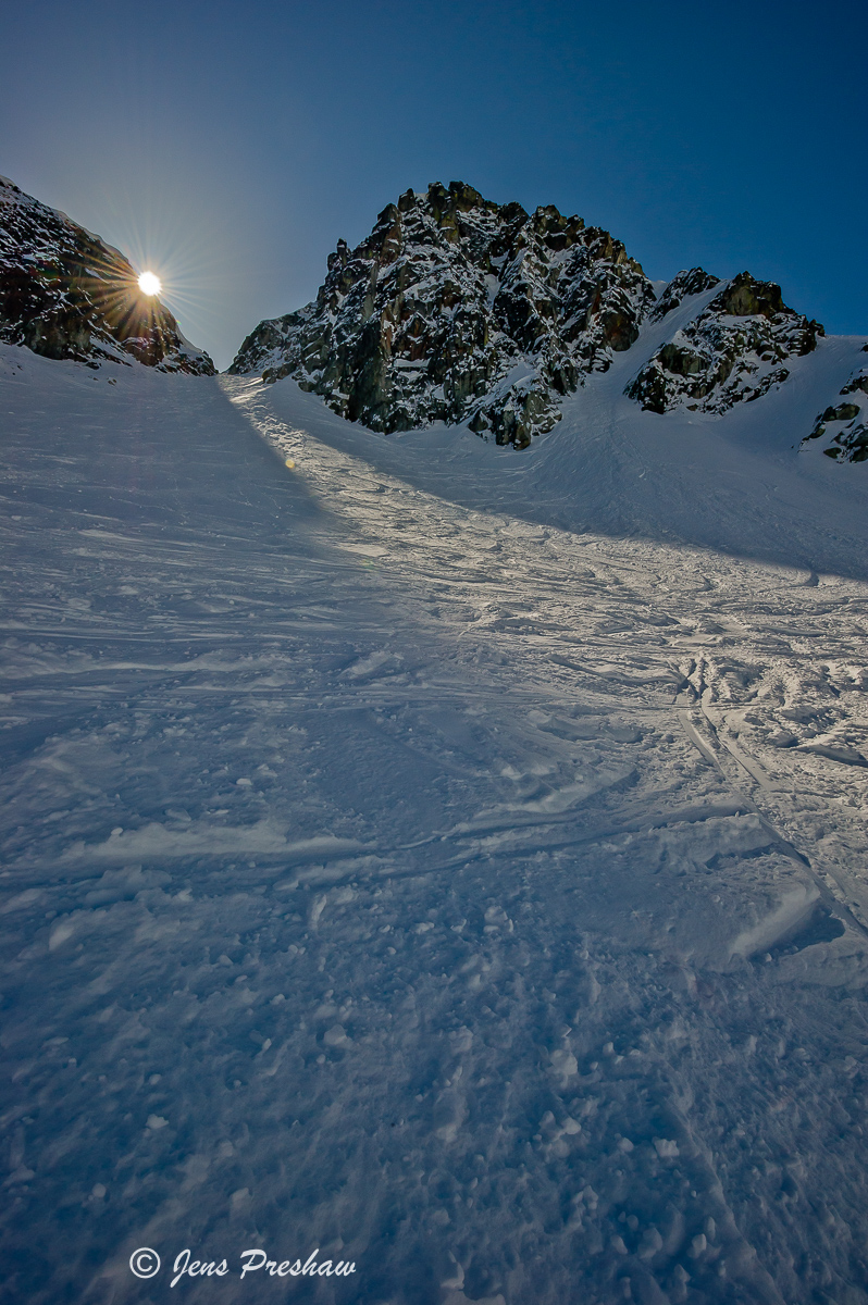 Sunburst, Blackcomb Glacier, Blackcomb Glacier Provincial Park, Whistler, British Columbia, Skiing, Winter, photo