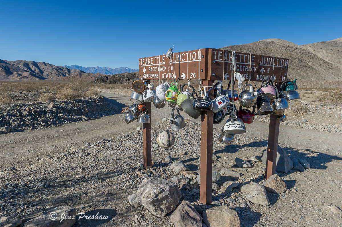 Teakettle Junction, Racetrack, Death Valley National Park, California, USA, photo
