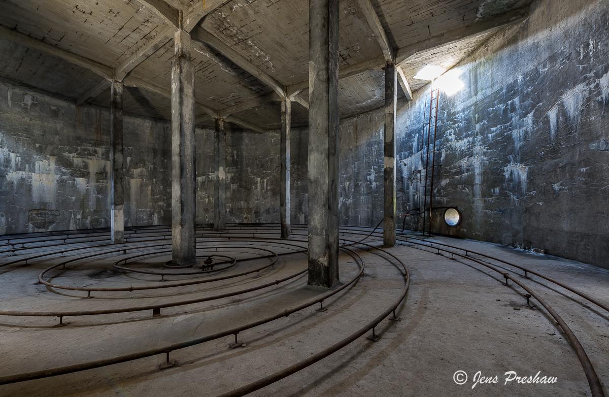 Abandoned Herring Processing Plant, Djúpavík, Reykjarfjörður, Strandir Coast, North-West Iceland, Summer